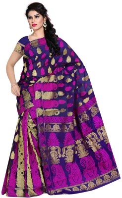 ethniccrush Printed Fashion Georgette Sari