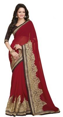 Fashion Forever Embellished Fashion Georgette Sari
