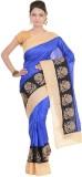 Kdc Sarees Embroidered Banarasi Handloom...