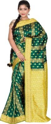 F3 Apparels Printed Dharmavaram Art Silk Sari