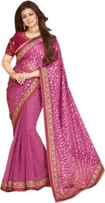 Heer Ganga Embriodered Fashion Handloom Brasso Sari