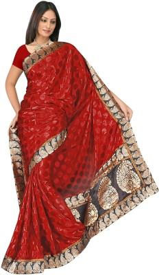 MGS Solid Fashion Brasso Sari