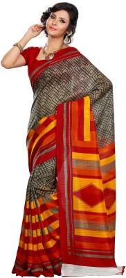 LavanyaPune Striped Bhagalpuri Silk Sari