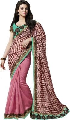 SareeStudio Printed Bollywood Silk Sari