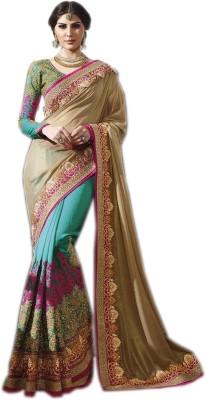 AC Creation Embriodered Lehenga Saree Chiffon Sari