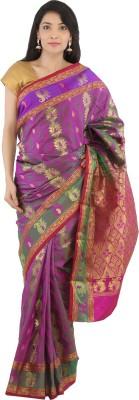 Aruna Fashions Woven Fashion Handloom Art Silk Sari