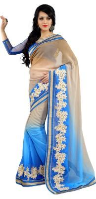 Sarang Dispatch Embriodered Bollywood Net Sari