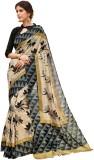 Vipul Printed Fashion Silk Saree (Beige)