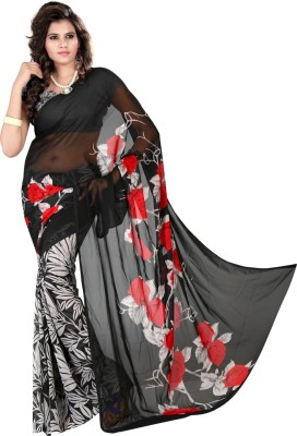 Anugrah Textile Printed Fashion Georgette Sari