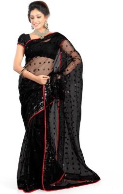 Riwaz Collection Self Design Bollywood Handloom Net Sari