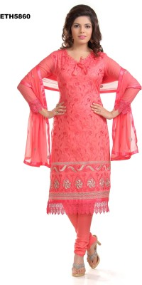 sivermoonfashion Salwar Suit Dupatta Material Embroidered Women's Suit