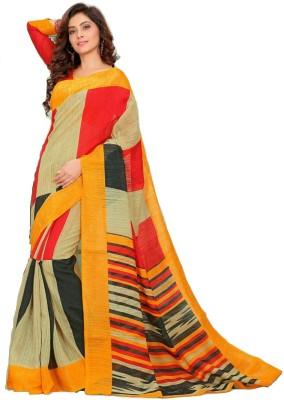 Kunal Embellished Bollywood Cotton, Silk Sari