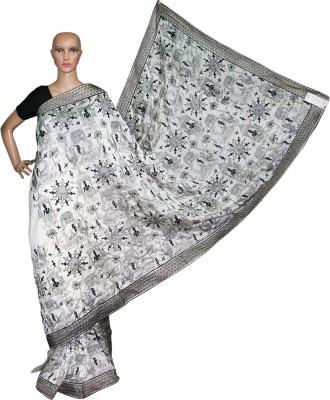 Prateeti Embriodered Fashion Poly Silk Sari
