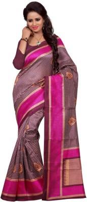 Gunjan Creation Printed Fashion Dupion Silk Sari