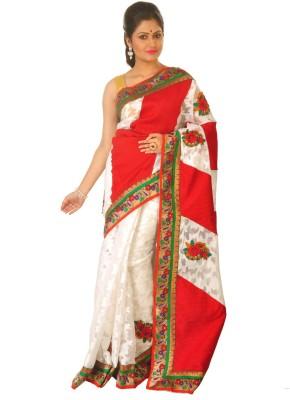 Sayani Boutique Self Design Fashion Handloom Brasso Sari