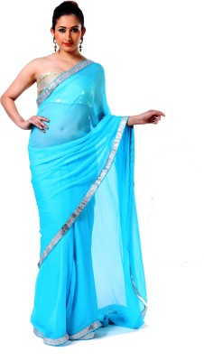 Ranas Self Design Fashion Chiffon Sari