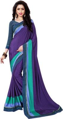 Toran Printed Fashion Crepe Sari