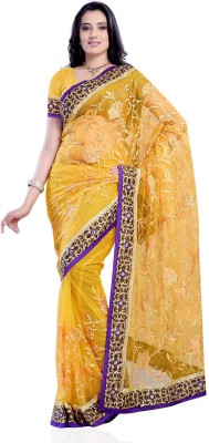 Diva Fashion-Surat Embriodered Bollywood Handloom Net Sari