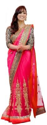Om Sai Laxmi Creation Self Design Bollywood Net Sari