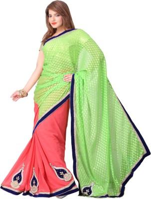 Brinley Self Design Daily Wear Art Silk Sari
