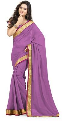 Awesome Self Design Fashion Chiffon Sari