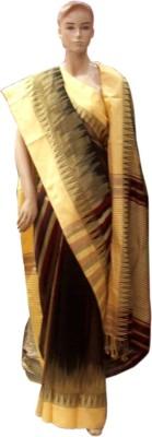 Pious Striped Daily Wear Handloom Art Silk Sari