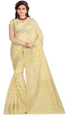 Aara Trendz Striped Bollywood Cotton Sari