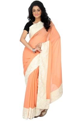 Rashee Solid Fashion Viscose Sari