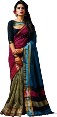 Miraan Woven Chettinadu Handloom Cotton Sari