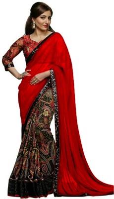 Hian Embellished Bollywood Georgette Sari