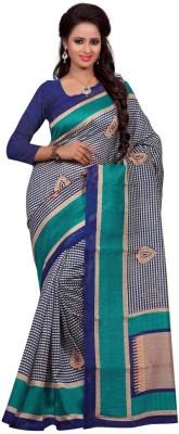 Sbfsarees Printed Bhagalpuri Handloom Cotton Sari