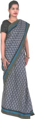 PurpleYou Printed Fashion Cotton Sari