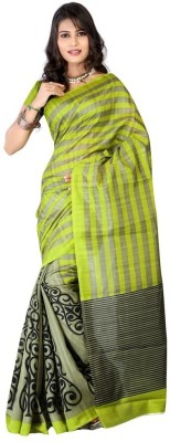 Suitsvilla Embriodered Bollywood Handloom Silk Sari