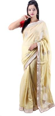 Laxmi Kripa Floral Print Fashion Handloom Jute Sari