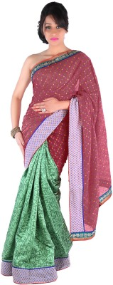 Suchi Fashion Embriodered Fashion Cotton Sari