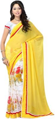 Sarika Fashion Floral Print Bollywood Georgette Sari