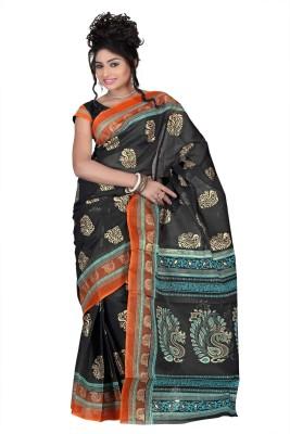 Chaand Sarees Printed Bollywood Cotton Sari