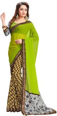 Panchi Printed Fashion Georgette Sari