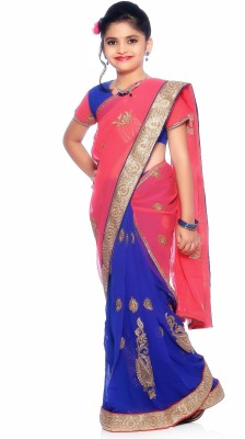 Bhartiya Paridhan Embellished Fashion Net Sari