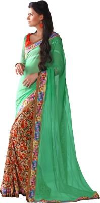 V-Style4u Printed Fashion Georgette Sari
