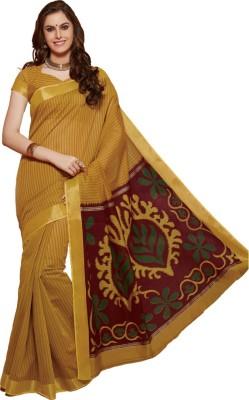 Tathastu Printed Fashion Handloom Cotton Sari