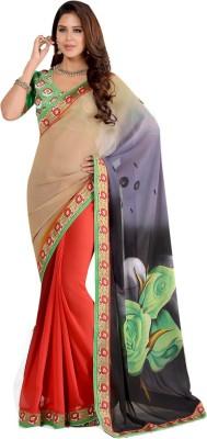 Diva Divine Printed Fashion Georgette Sari