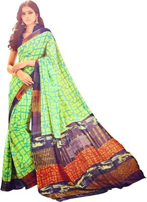 Jiya Self Design, Printed Fashion Georgette Sari