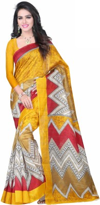 Winza Designer Embellished, Embriodered, Paisley, Printed, Self Design, Solid, Geometric Print, Graphic Print, Plain, Polka Print Bollywood Art Silk, Printed Silk, Silk, Cotton Sari