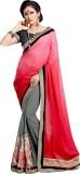 Brijraj Embellished Fashion Georgette Sa...