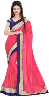 Advait Self Design Bollywood Chiffon Sari