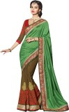 SareeShop Embroidered Bollywood Georgett...
