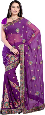 Diva Fashion-Surat Embriodered Bollywood Handloom Georgette Sari