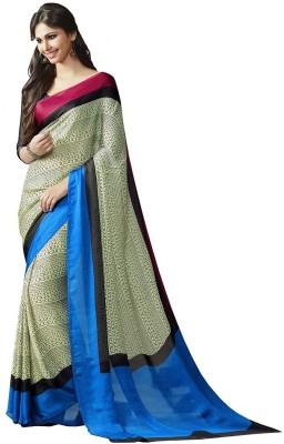 Vipul Printed Daily Wear Satin Sari
