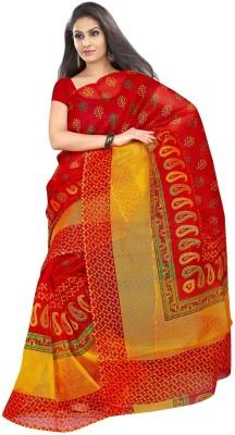 Mahaprabhu Printed Fashion Handloom Synthetic Sari